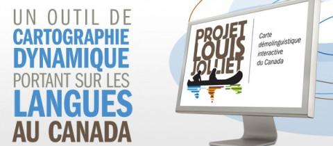 Le projet Louis-Jolliet, une carte démolinguistique interactive du Canada