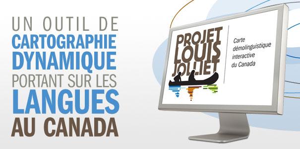 Cartographie dynamique sur les langues du Canada